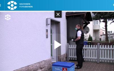Unser Beitrag beim Sachsen Fernsehen
